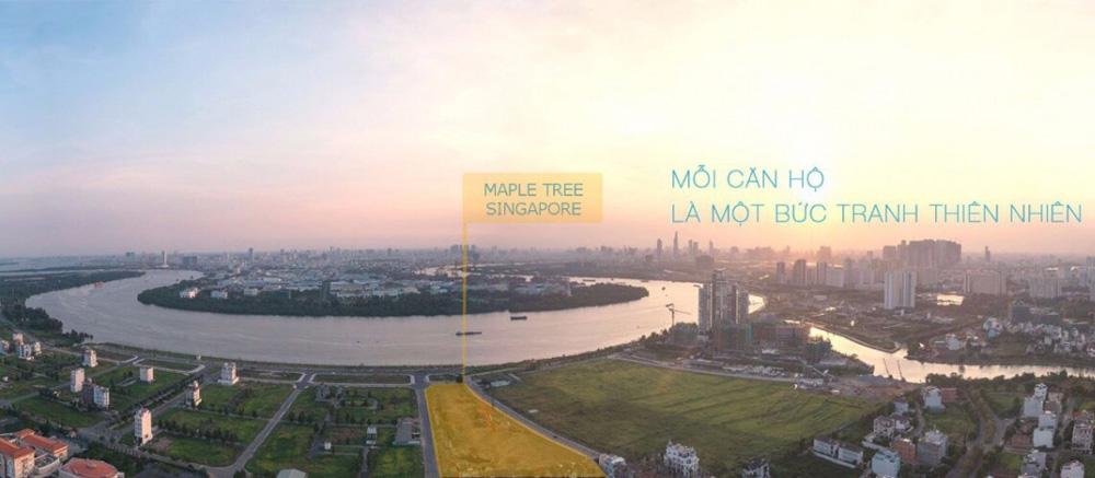 One Verandah view toàn cảnh sông Sài Gòn