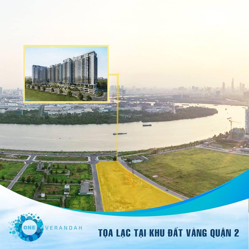 One Verandah bên sông Sài Gòn